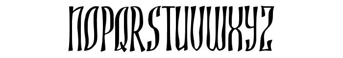 JMHROJO-Regular Font UPPERCASE