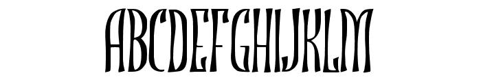 JMHROJO-Regular Font LOWERCASE