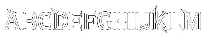JMHRastan-Regular Font UPPERCASE