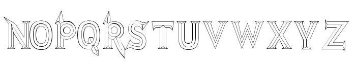 JMHRastan-Regular Font LOWERCASE