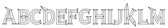 JMHRastanBold-Regular Font UPPERCASE