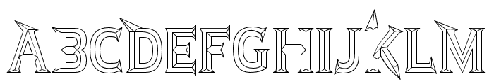 JMHRastanBold-Regular Font LOWERCASE