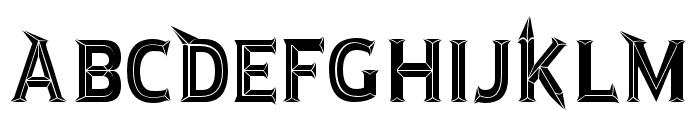 JMHRastanBoldBlack-Regular Font UPPERCASE
