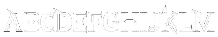 JMHRastanFine-Regular Font UPPERCASE