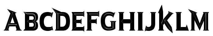 JMHRastanFineBlack-Regular Font UPPERCASE