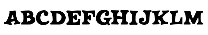 JMHSALOON-Regular Font UPPERCASE