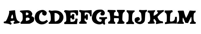 JMHSALOON-Regular Font LOWERCASE