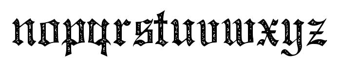 JMHSantaMariaRough-Regular Font LOWERCASE