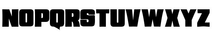 JMHSavage-Regular Font UPPERCASE