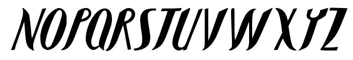 JMHShadow-Regular Font UPPERCASE