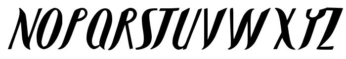 JMHShadow-Regular Font LOWERCASE
