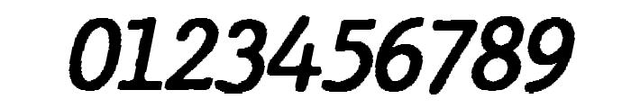 JMHTypewriter-BoldItalic Font OTHER CHARS