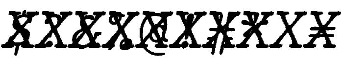 JMHTypewritermonoCross-Italic Font OTHER CHARS