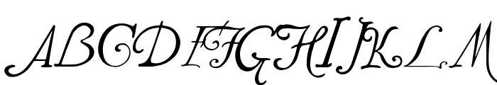 JMHWeirdTalesTitCaps-Regular Font LOWERCASE