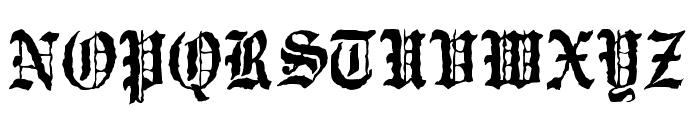 JMHWulfila-Regular Font UPPERCASE