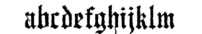 JMHWulfila-Regular Font LOWERCASE