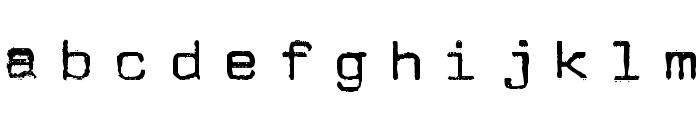 JMLetter Font LOWERCASE