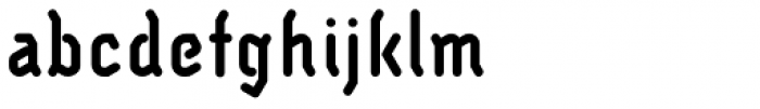JMTF Robin 9 Bold Font LOWERCASE