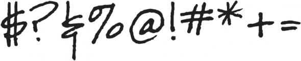 Joanne Script BH Regular otf (400) Font OTHER CHARS