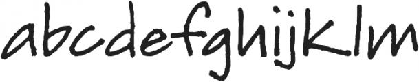 Joanne Script BH Regular otf (400) Font LOWERCASE