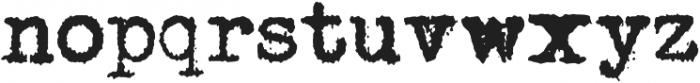 Joe Underwood ttf (400) Font LOWERCASE