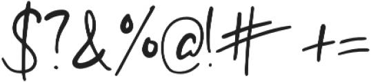 Jolly Alternative otf (400) Font OTHER CHARS