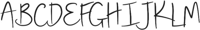 Jolly Alternative otf (400) Font UPPERCASE