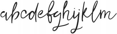 Jolly Alternative otf (400) Font LOWERCASE