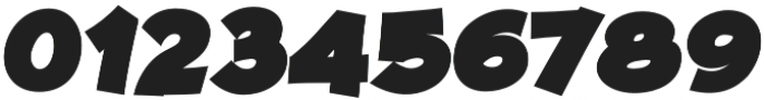 JollyGood Proper Black Italic otf (900) Font OTHER CHARS