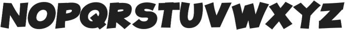 JollyGood Proper Black Italic otf (900) Font UPPERCASE