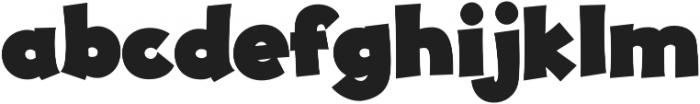 JollyGood Proper Black otf (900) Font LOWERCASE