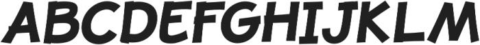 JollyGood Proper Bold Italic otf (700) Font UPPERCASE