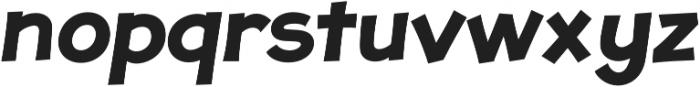 JollyGood Proper Bold Italic otf (700) Font LOWERCASE