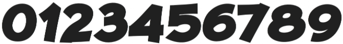 JollyGood Proper ExtraBold Italic otf (700) Font OTHER CHARS