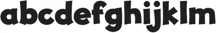 JollyGood Proper ExtraBold otf (700) Font LOWERCASE