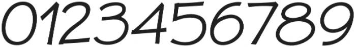 JollyGood Proper Light Italic otf (300) Font OTHER CHARS