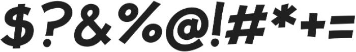 JollyGood Proper SemiBold Italic otf (600) Font OTHER CHARS