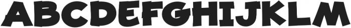 JollyGood Proper Unicase Black otf (900) Font UPPERCASE