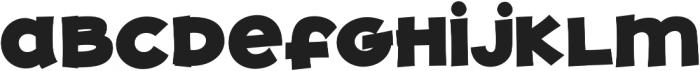 JollyGood Proper Unicase Black otf (900) Font LOWERCASE