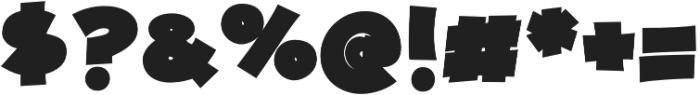 JollyGood Proper Unicase ExtraBlack otf (900) Font OTHER CHARS