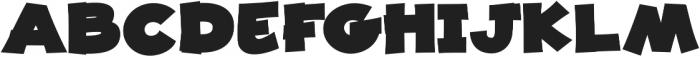 JollyGood Proper Unicase ExtraBlack otf (900) Font UPPERCASE