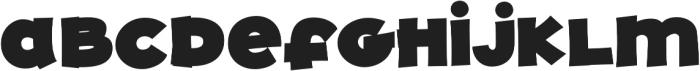 JollyGood Proper Unicase ExtraBlack otf (900) Font LOWERCASE