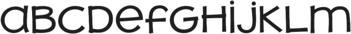 JollyGood Proper Unicase Regular otf (400) Font LOWERCASE