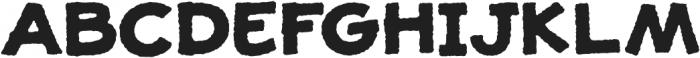 JollyGood Proper Unicase Rough Bold otf (700) Font UPPERCASE