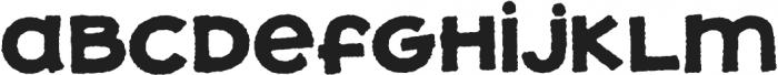 JollyGood Proper Unicase Rough Bold otf (700) Font LOWERCASE