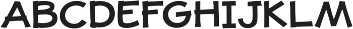 JollyGood Proper Unicase SemiBold otf (600) Font UPPERCASE