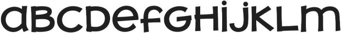 JollyGood Proper Unicase SemiBold otf (600) Font LOWERCASE