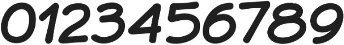 JollyGood Sans Bold Italic otf (700) Font OTHER CHARS