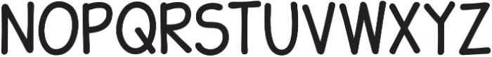 JollyGood Sans Condensed otf (400) Font UPPERCASE