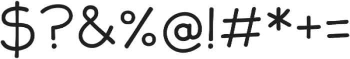 JollyGood Sans Light otf (300) Font OTHER CHARS